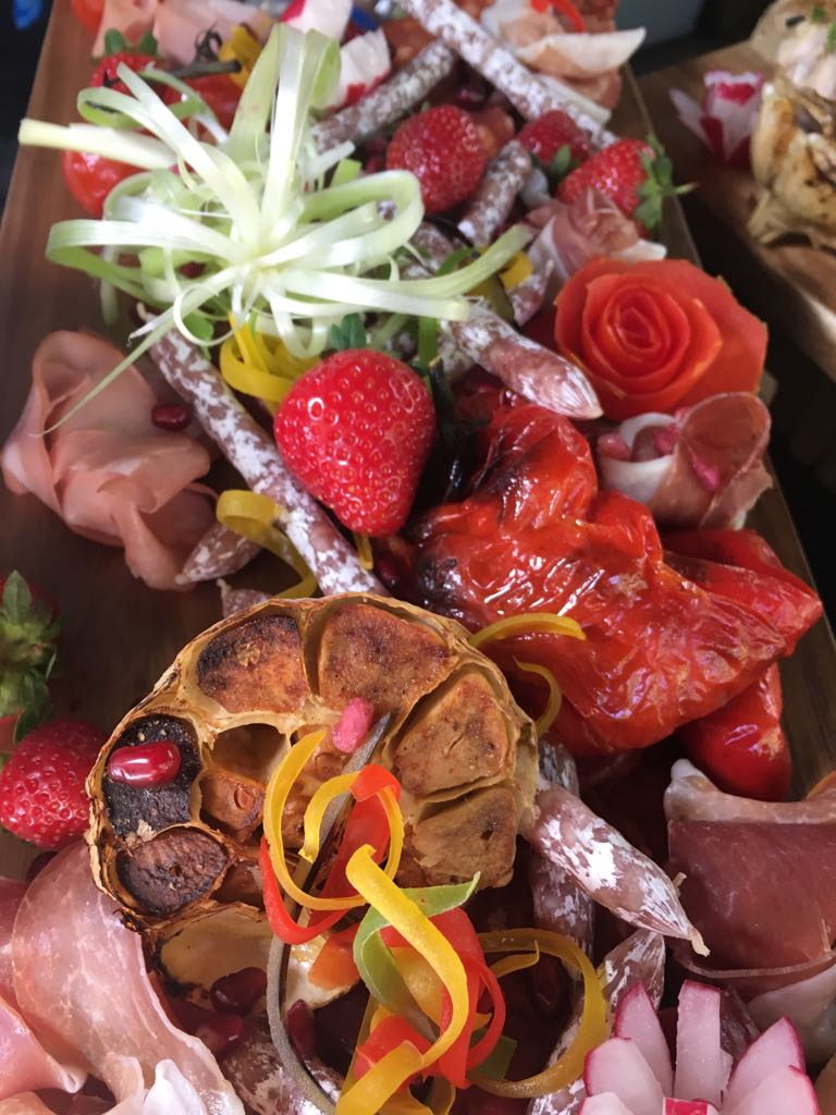 Antipasti from our wedding menu